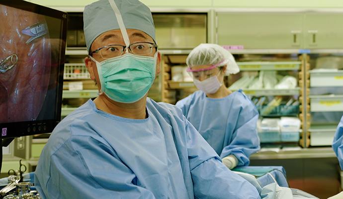 横浜市立大学附属市民総合医療センター消化器病センターメインビジュアル